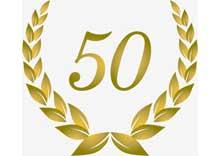 50 ΧΡΟΝΙΑ ΕΜΠΙΣΤΟΣΥΝΗΣ
